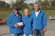 7. Platz Bernd-Rito Sönksen + Renate Dyck + Horst Hansen - Geest-Bouler Breklum