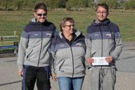 9. Platz Daryn Lange + Marion Lange + Michel Wott - Idstedter Pétanque Club