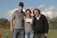 3. Platz Stefan Froschauer + Anja Cornils + Christian Krümmel - SV Lemsahl Hamburg