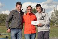 2. Platz Christian Hahnen + Isabelle le Bras + Glen Mabileau - BinPark Bergedorf Hamburg