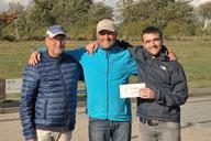 4. Platz Burkhard Nitsch + Detlef Leitenberger + Alexandre Deleagarde - Tarup UF