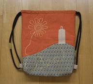 Mi mochila de tela sigue siendo de Mariposa Pititico