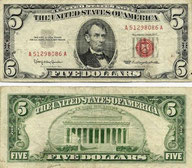 FIVE-DOLLAR BILL