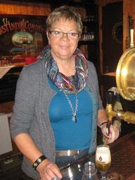 Renate Hengst hat wie in jedem Jahr die Club- mitglieder durch ihren Service verwöhnt.