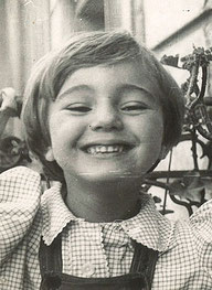 Valérie Hebey enfant