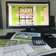 planen, kalkulieren, bauen