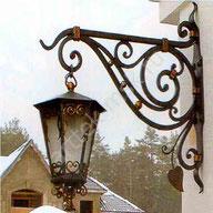 Кованый фонарь 2