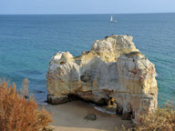 Panoausblick Algarvefelsen I
