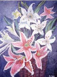 花-カサブランカ