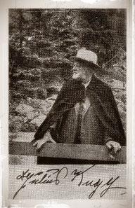Dr. Julius Kugy , Erschließer Julische Alpen, Triest