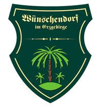 Bild: Teichler Gemeindewappen Wünschendorf Erzgebirge