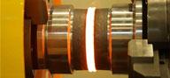 Reibschweißen auf U-Jins U-JIN TECH CORPs 100SF Einspindel-Maschine mit 100 t Kraft