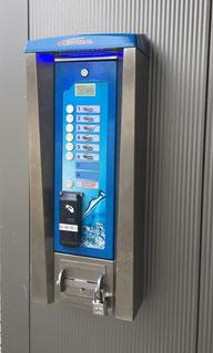 SB-Waschanlage AVANT von MAKSWASH ISTOBAL - Edelstahlgehäuse mit verschleißfreien Piezotasten. Neubau und Modernisierung