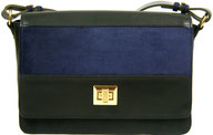 sac main en cuir noir, Rivage Saule Paris, Label Fabriqué à Paris