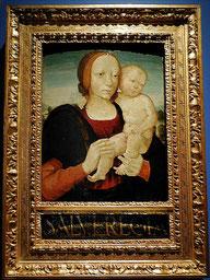 Anonyme, Vierge à l'Enfant, Ombrie, XVe / Musée de Laon