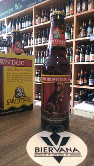 Old Brown Dog Ale von Smuttynose aus New Hampshire