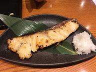 妙な味で半分残した鱈の粕漬け