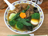 新メニューの豚角煮麺