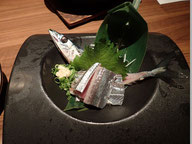 サンマ刺身 新鮮でおいしかった