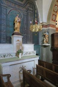Bild: Brantes am Mont Ventoux, Kirche Saint-Sidoine