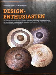 Testbericht im Magazin Drumheads der Pergamon Becken