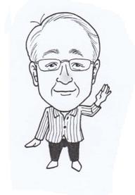 漫画家中村ユキさんによる似顔絵