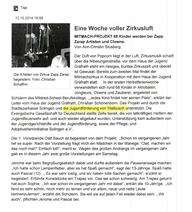 Bericht Mitmachzirkus