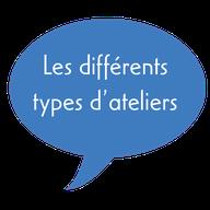 Association Départementale des Centres de Loisirs de Loir-et-Cher - ADCL41 - Les types d'ateliers formations