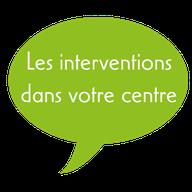 Association Départementale des Centres de Loisirs de Loir-et-Cher - ADCL41 - Les interventions au centre de loisirs