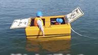 BS放送で津波シェルターCL-HIKARiが放映01