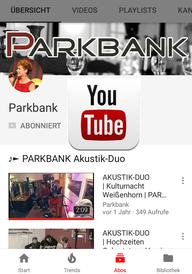 PARKBANK auf YouTube