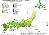 森林面積図