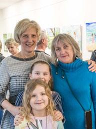 Lebensfreude - Bilder von Binka Schön - hier mit ihrer Lautatorin Christine Klemke
