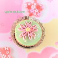 桜のカップケーキデコレーション