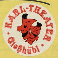 """Erstes Logo """"Karl-Theater Gießhübl"""""""