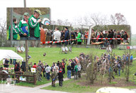 Begrüßung auf dem Vereinsgelände am 08.04.2017 in Merkwitz