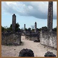 Kaole Bangamoyo pillar tombs