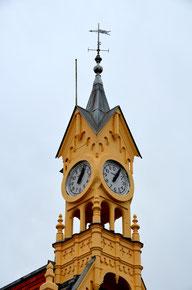 Le clocheton de la gare d'Abbeville