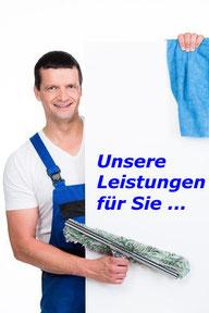Leistungen Fensterputzer Landkreis Karlsruhe