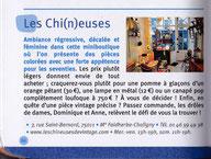article presse Carnets parisiens - Vintage, fripes et récup