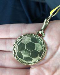 Unsere Medaille vom Wenzel-Pokal.
