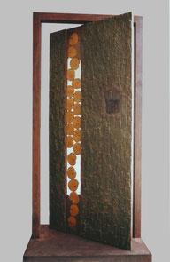 porte de l'Atlas Michel Tancelin artiste sculpture versailles arbre tempête