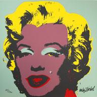 Marilyn Monroe von Andy Warhol