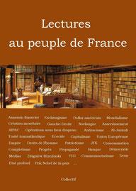 Texte inspiré du livre Lectures au peuple de France (2014)
