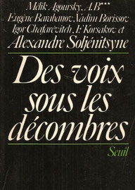 Des voix sous les décombres, Mélik Agourski (1974)