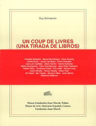 Un coup de livres, Guy Schraenen Catalogue