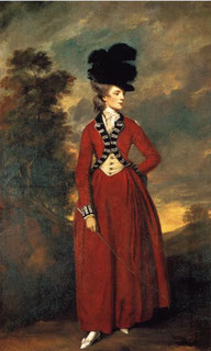 Seymour, Lady Worsley, 1775/6, by Joshua Reynolds [Public domain], via Wikimedia Commons