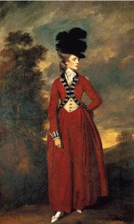 Seymour, Lady Worsley, 1775/6, by Joshua Reynolds [Public domain], via Wikimedia Commons