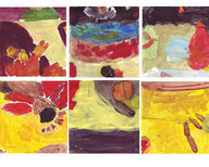 Travaux des Maternelles - Ateliers artistiques pour enfants de Catherine Berthelot - catherineberthelot.com