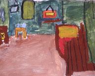 Travaux des CE1-CE2 - Ateliers artistiques pour enfants de Catherine Berthelot - catherineberthelot.com